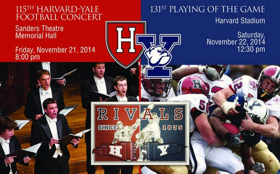 2014 Harvard-Yale Football Weekend @ John Harvard's - Sanders Theatre - Harvard Stadium